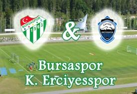 İlk Hazırlık Maçımız : Erciyesspor 3-0 Bursaspor
